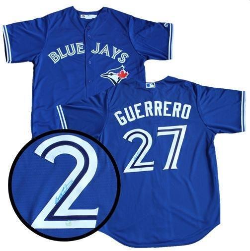 1$ Guerrero Jr Signed Jersey