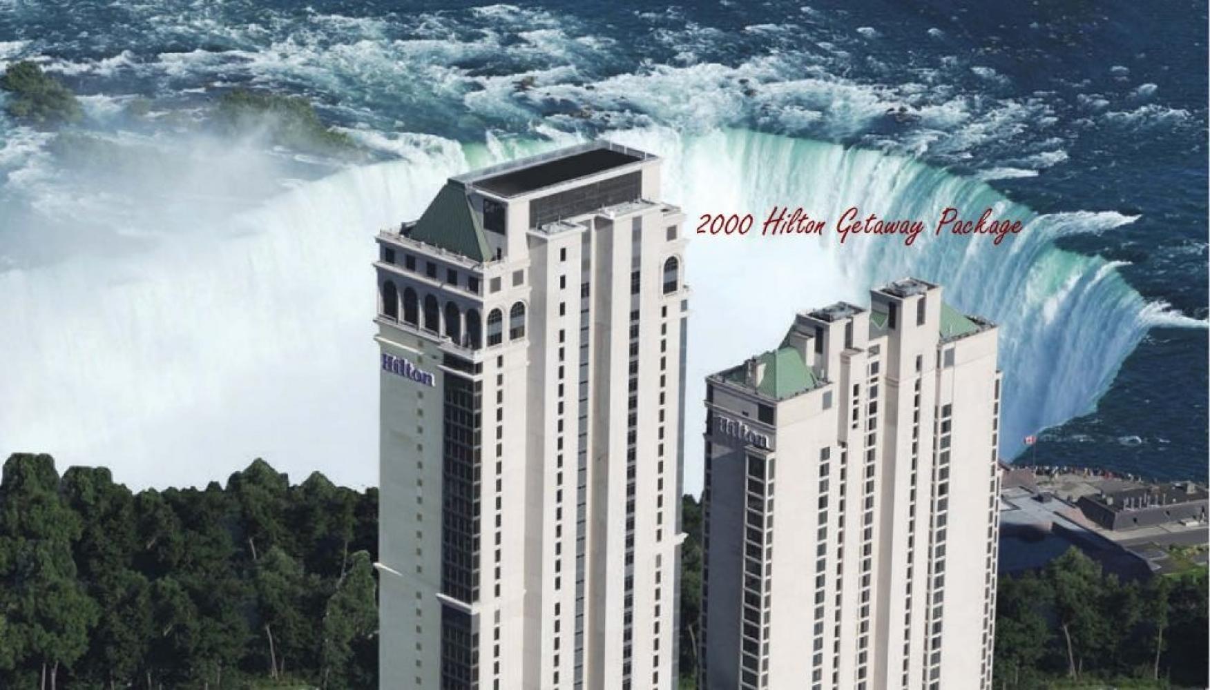 $2000 Hilton Niagara Get Away
