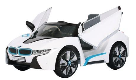 6V Rollplay BMW i8 White Ride-
