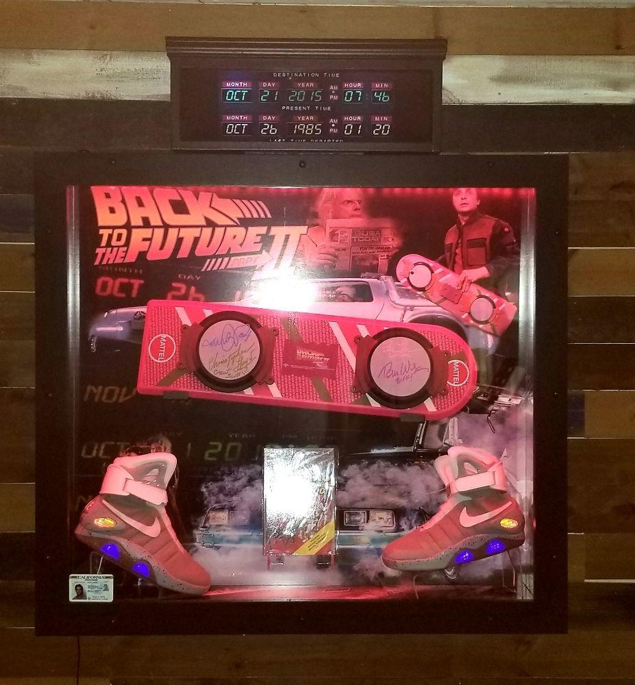 BACK TO THE FUTURE Signed!