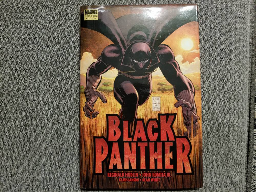 Black Panther Hard cover Comic