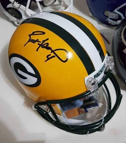 Brett Favre Rep Helmet