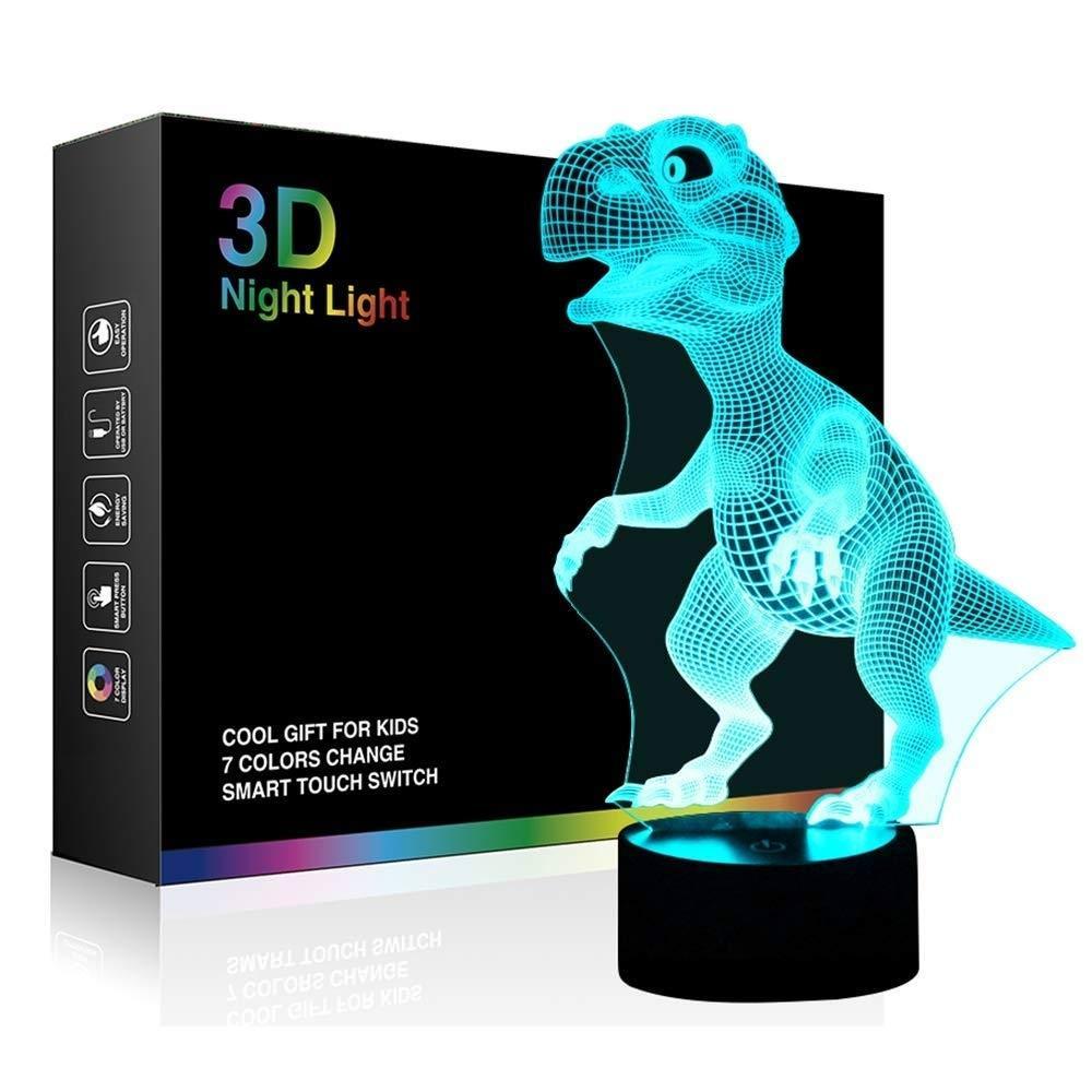 Dinosaur 3D Night Light