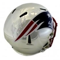 Gronk Chrome rep helmet