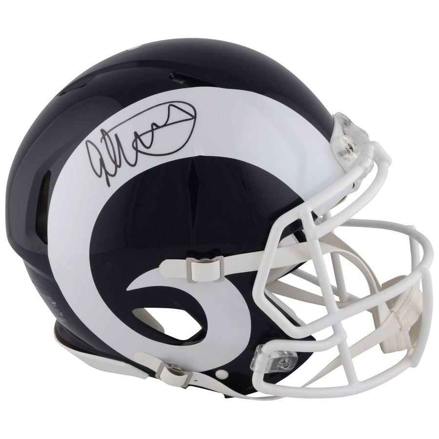 Gurley Signed Authentic Helmet