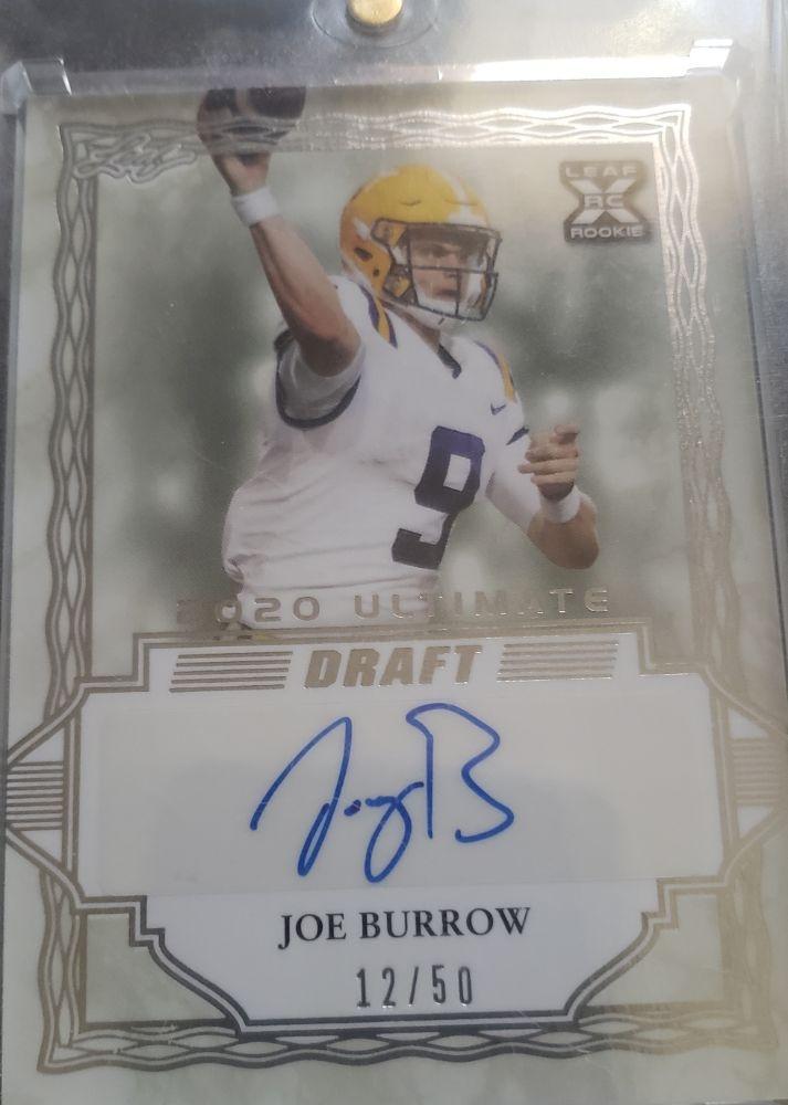 Joe Burrow Autograph