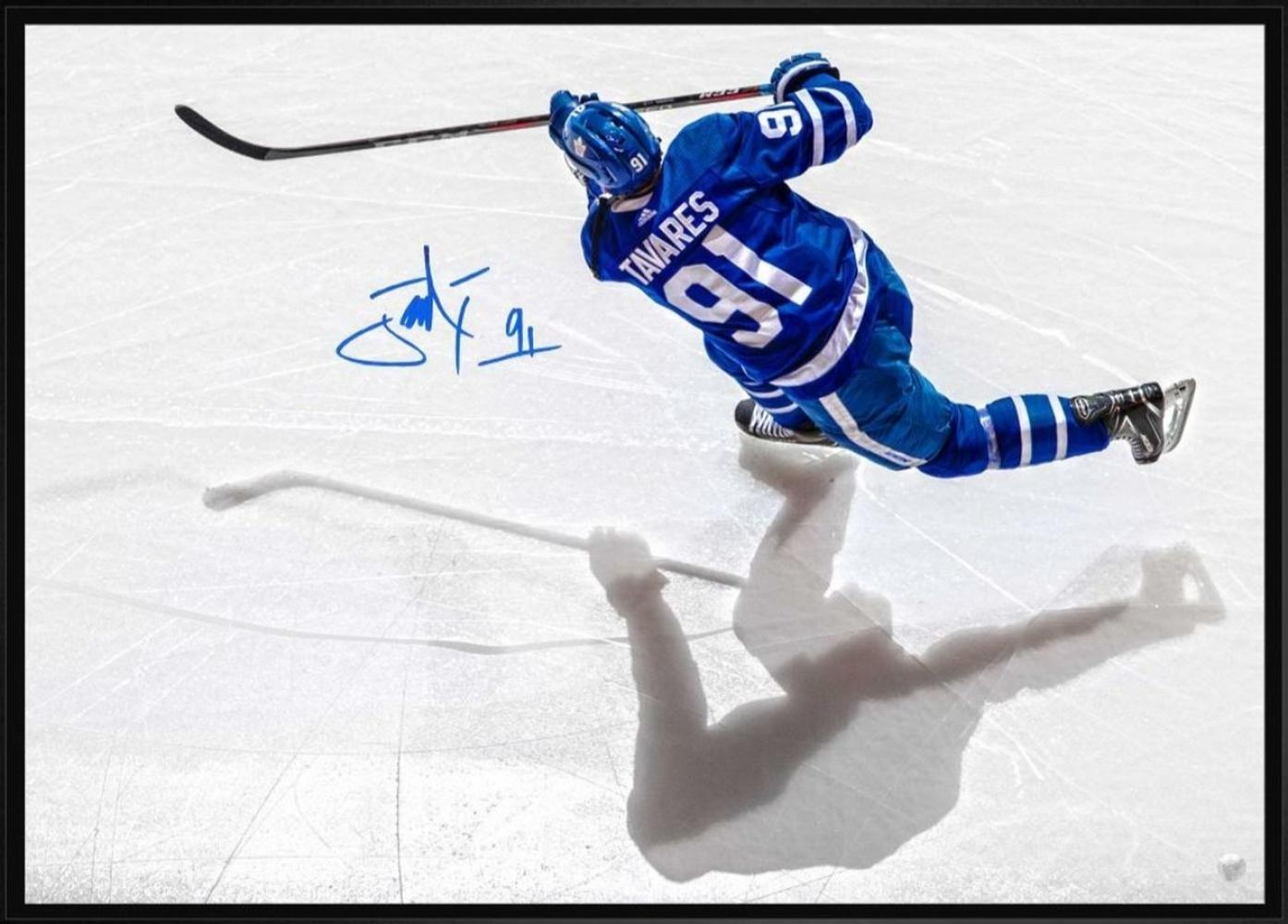 John Tavares Signed Canvas