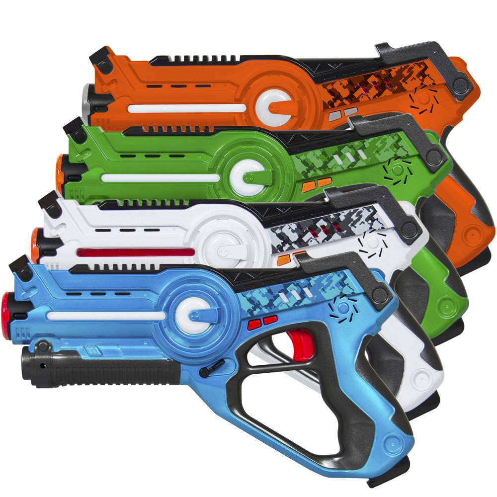Kids Laser Tag Set Gun Toy Bla