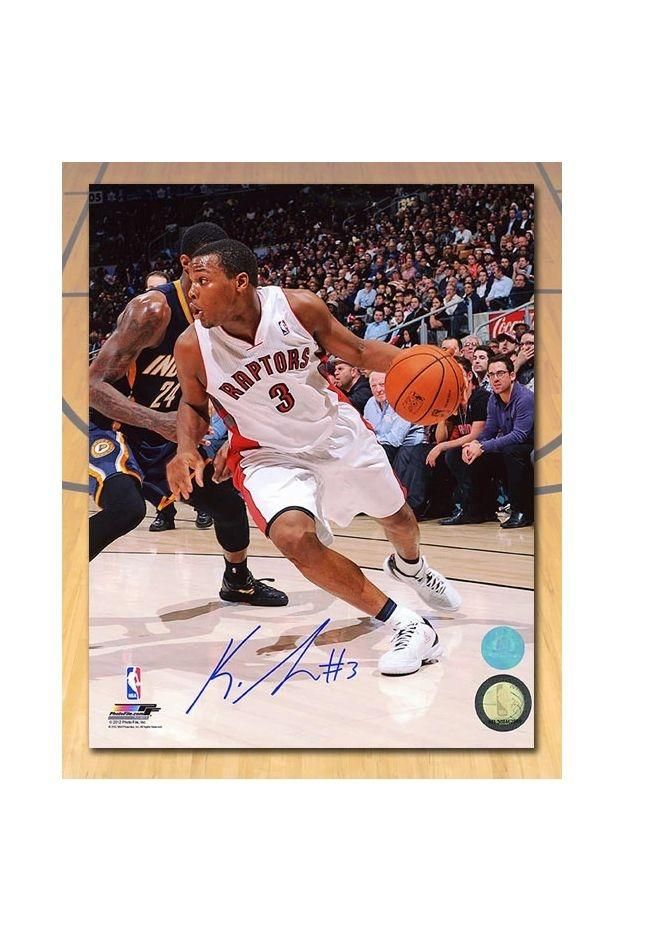 Kyle Lowry Signed 8x10
