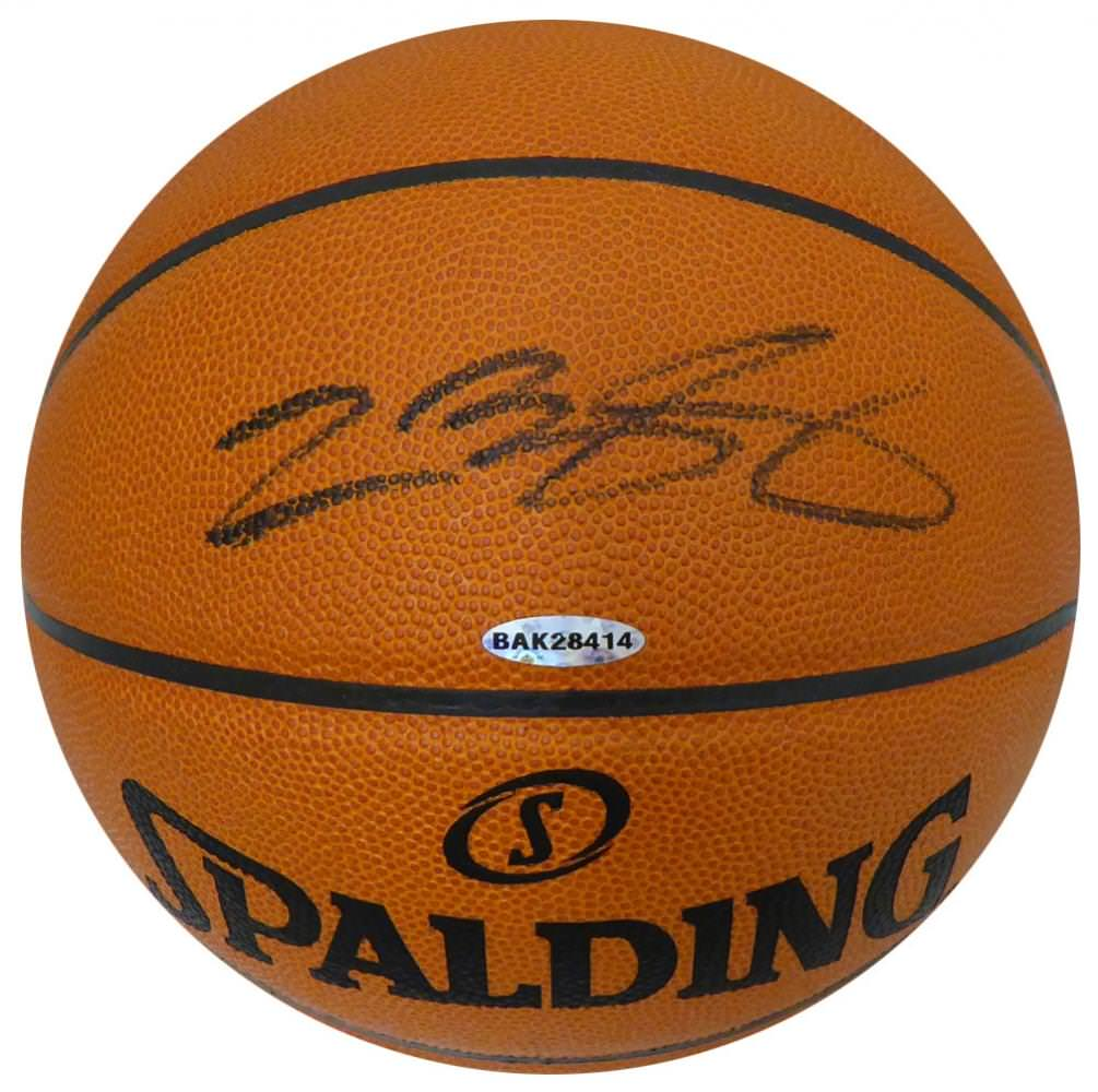 Lebron James autographed ball