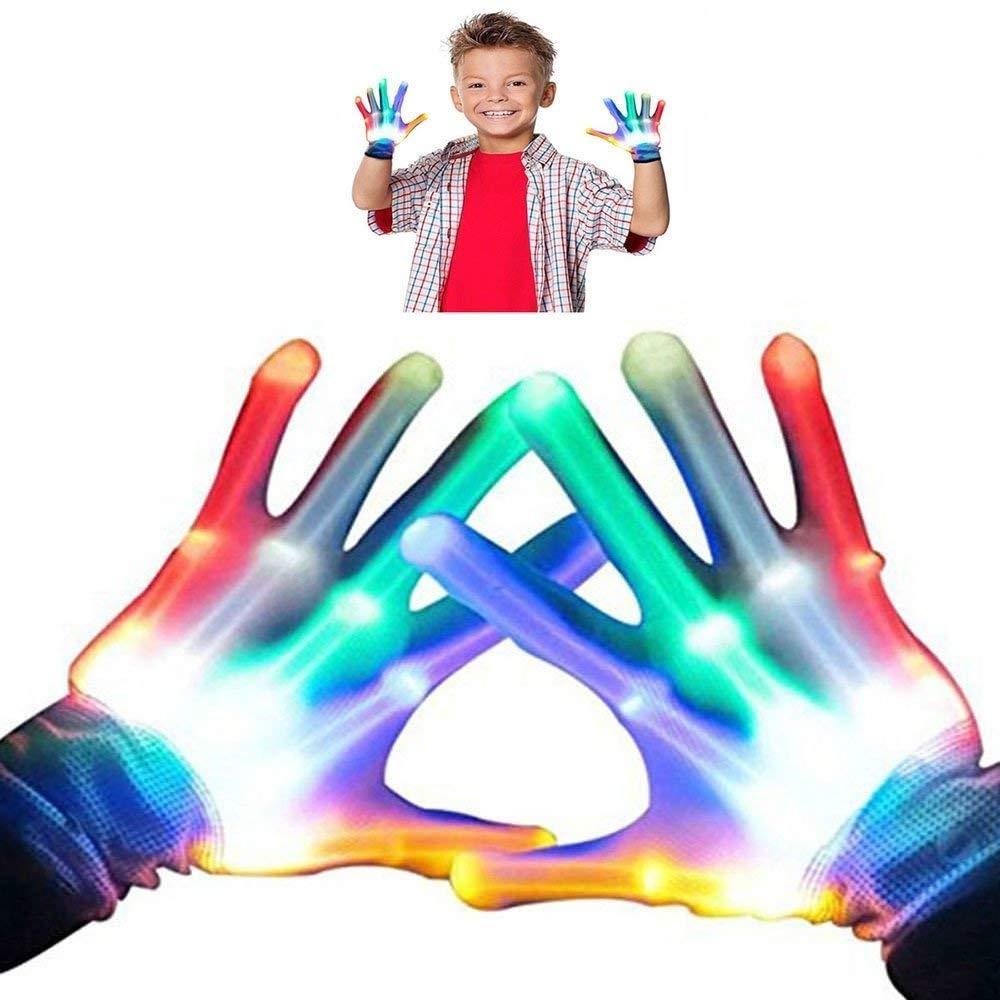 LED Fun Kids Gloves