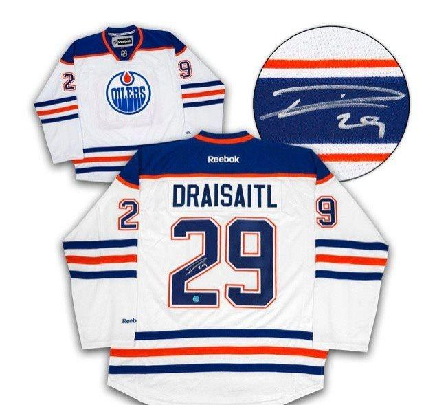 Leon Draisaitl Signed Jersey!