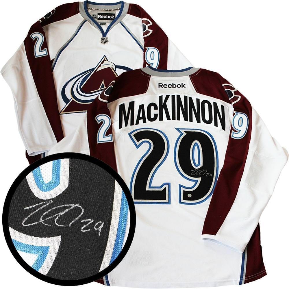 MacKinnon Signed Jersey