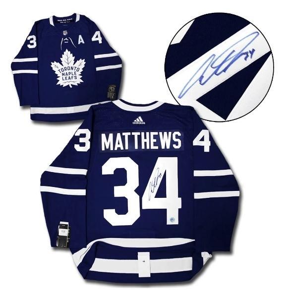 Matthews Toronto LEAFS JERSEY