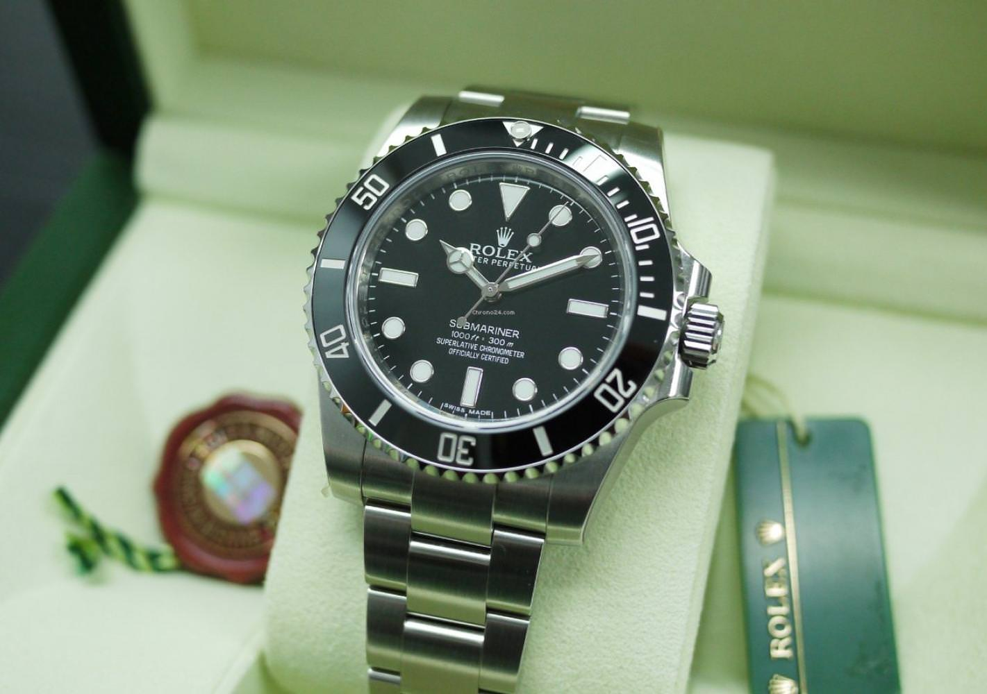 New Rolex Submariner No Date