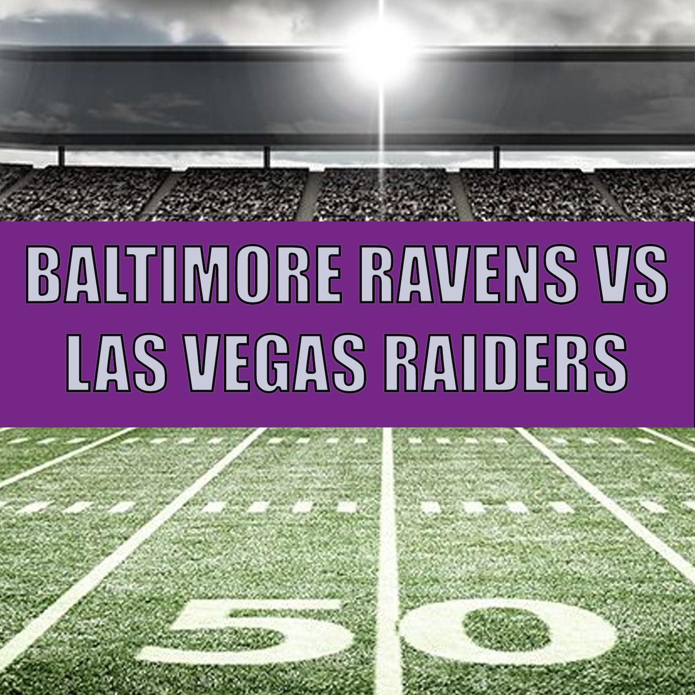 NFL - BALTIMORE @ LAS VEGAS