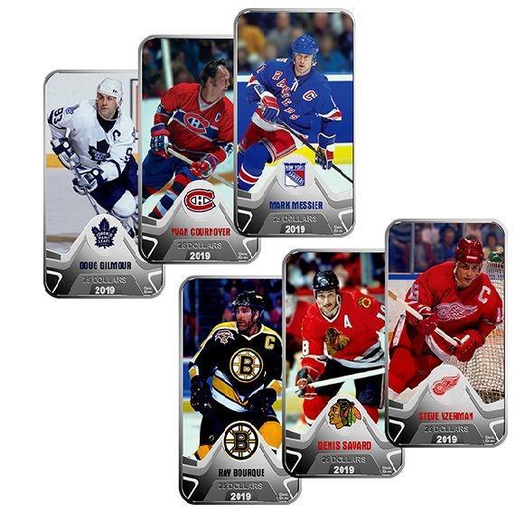 NHL® Original Six Coin Set