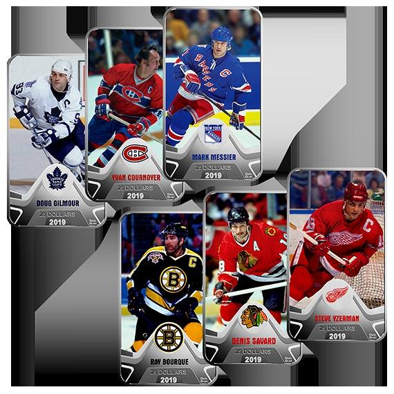 NHL Pure Silver 6-Coin Set
