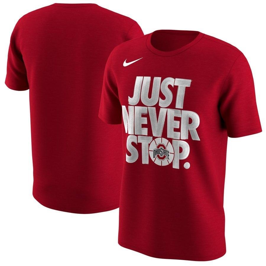 Nike '18 NCAA NeverStop TShirt