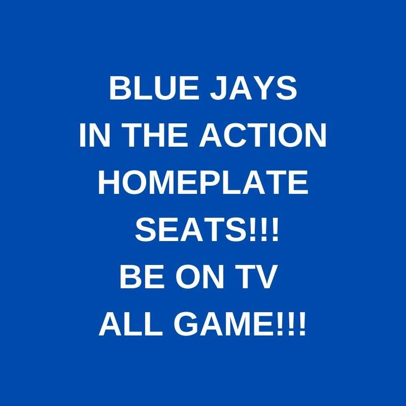 PAIR BLUE JAYS ACTION SEATS!