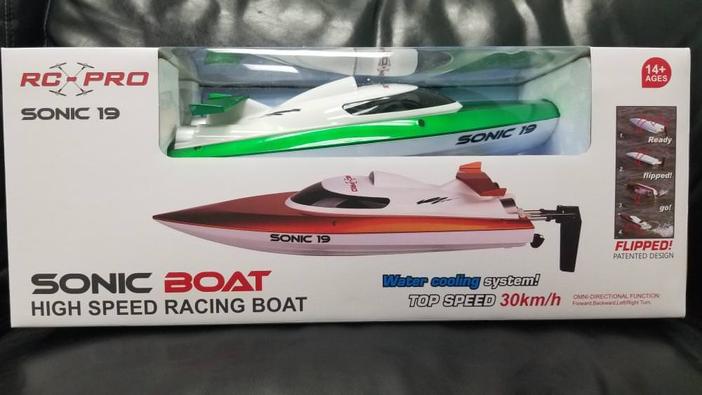 RC-PRO SONIC 19 RC BOAT
