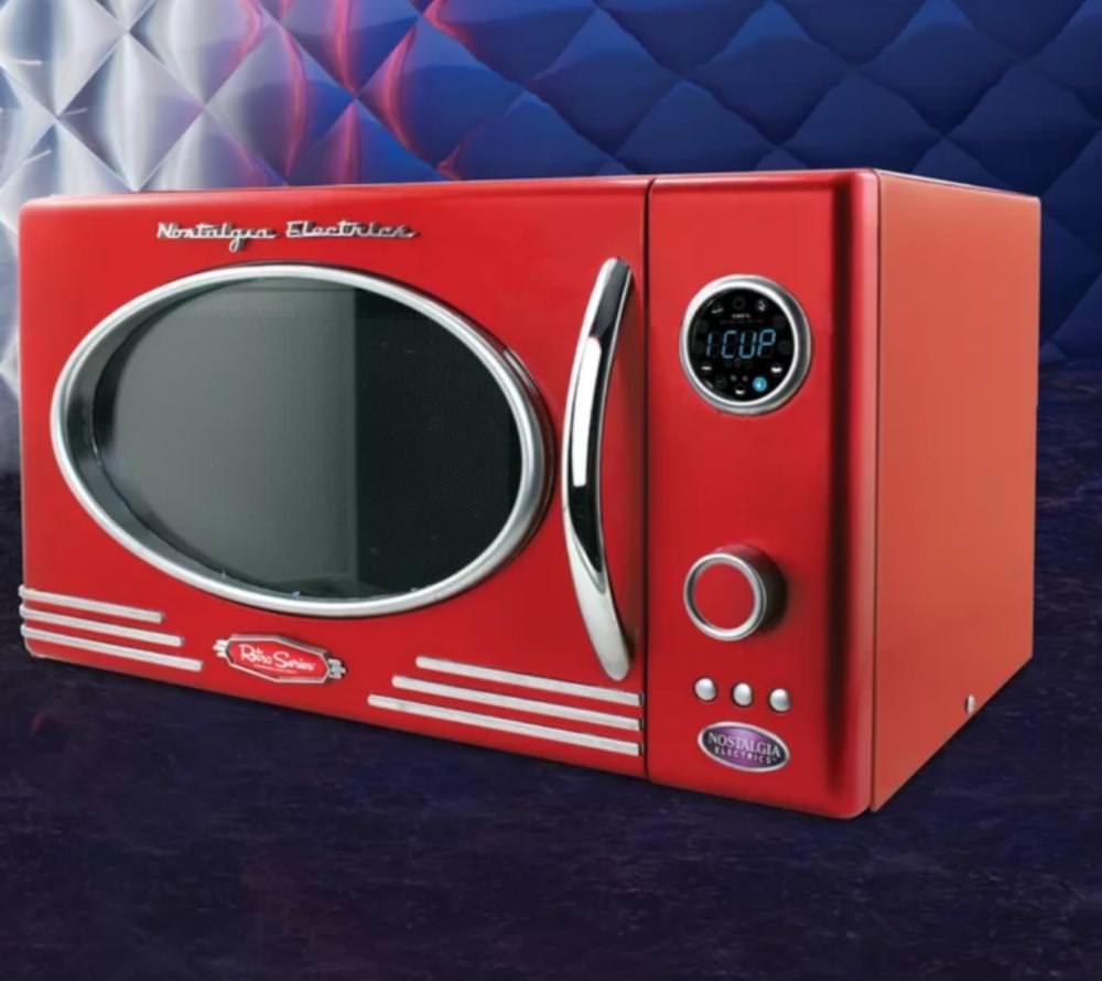 Retro Series Microwave