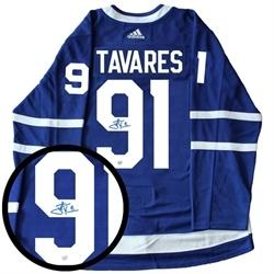 Tavares Signed Leafs Jersey