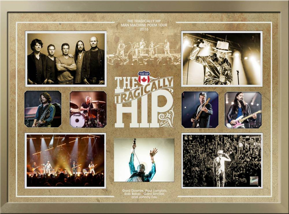 The Tragically Hip Collage