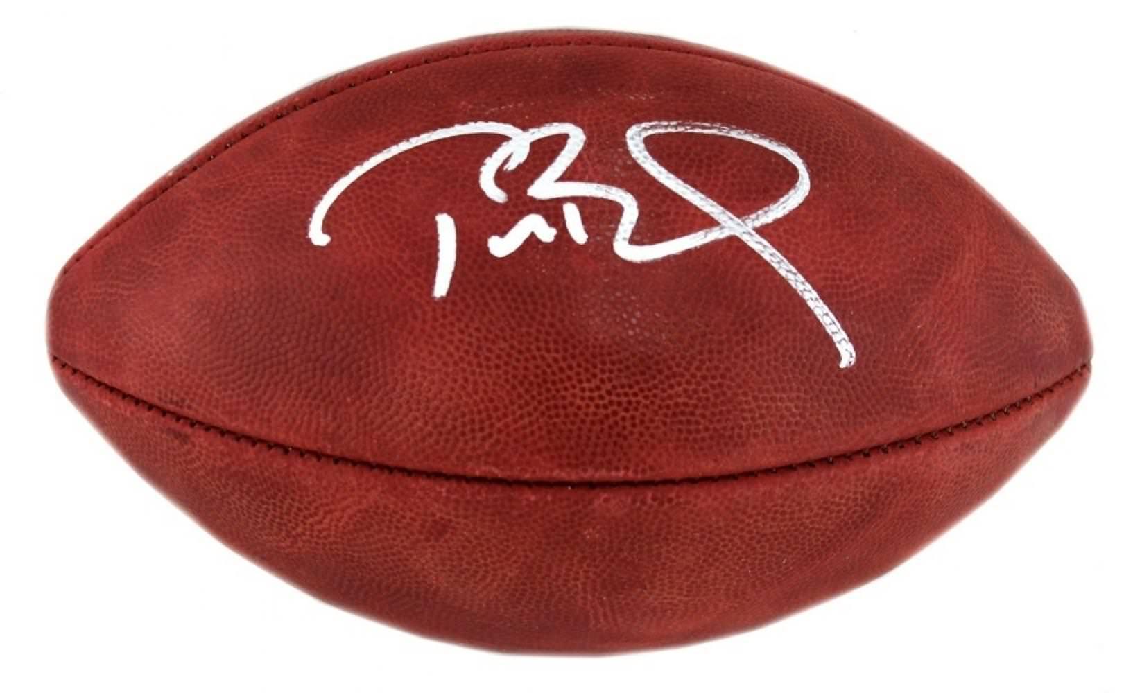 Tom Brady auto Duke football