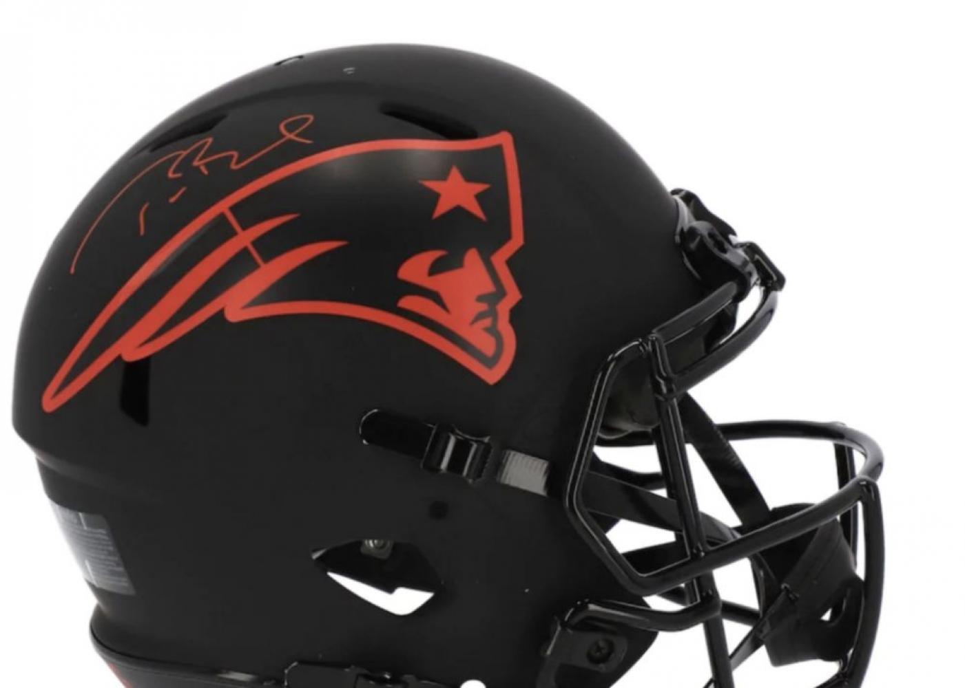 Tom Brady Pats Helmet