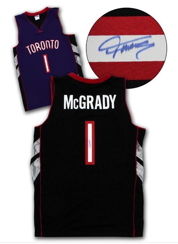 Tracy McGrady Signed Jersey