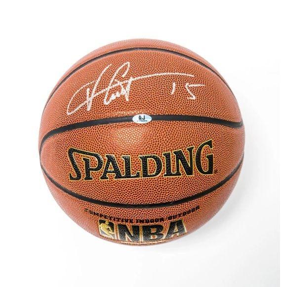 Vince Carter Signed Basketball