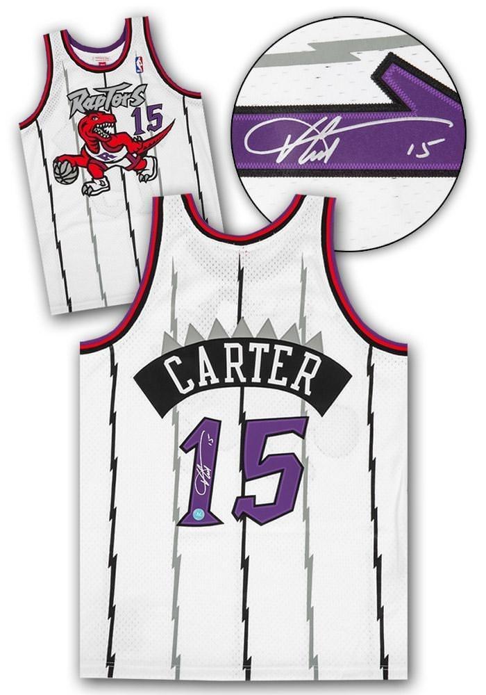 Vince Carter Signed Jersey