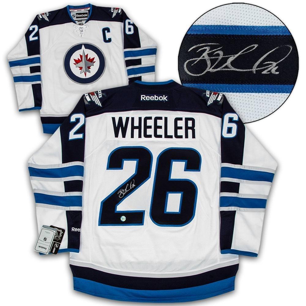 Wheeler Signed Jets Jersey